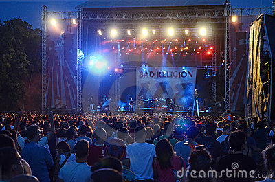 Exit Festival - Bad Religion Editorial Stock Image