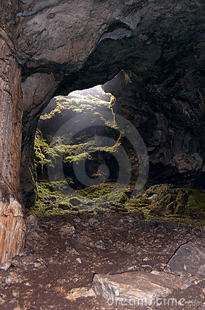 Free Exit From Cave Stock Image - 19393911