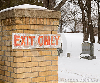 Exit Only satire