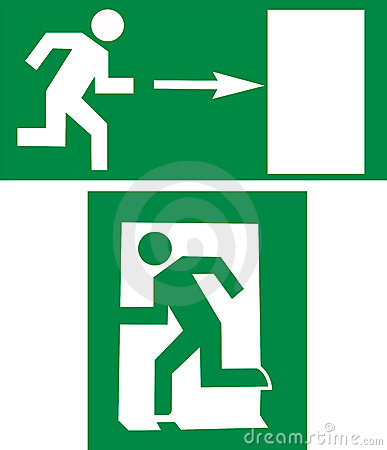 Free Exit Sign Stock Photos - 4388073