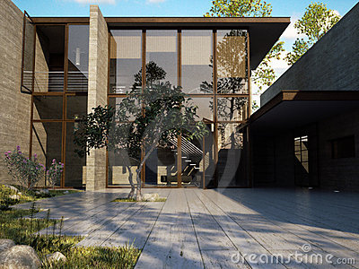 Exklusives Küstehaus