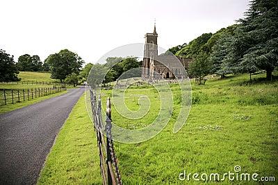 Exmoor church