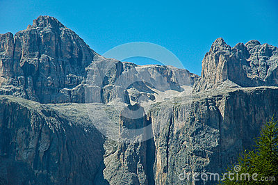 Exner tower, Sella Group - Dolomites