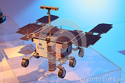 Exomars Rover Editorial Stock Image