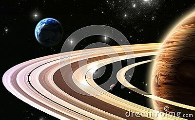 Exoplanets. Esterno di mondo del nostro sistema solare