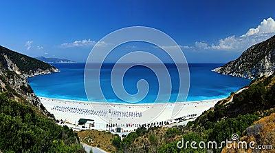 Exotic beach Myrtos Kefalonia
