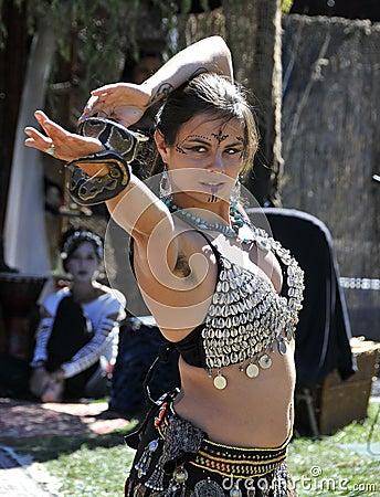 Exotic Belly Dancer