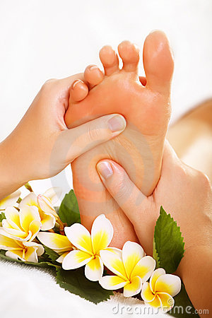 Free Exotic Foot Massage Stock Photography - 13027752