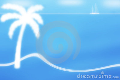 Exotic frame background