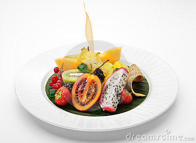 Exotic Fruit Dish