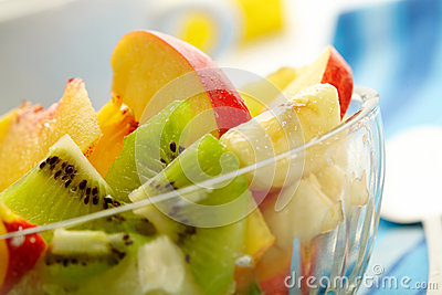 Exotic fruit salad