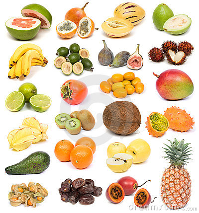 Free Exotic Fruits Royalty Free Stock Image - 3540576