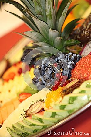 Exotic fruits - closeup