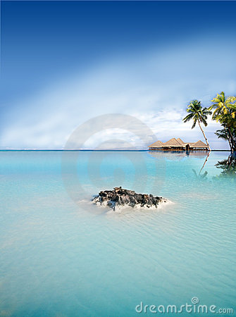 Exotic Holiday Destination Royalty Free Stock Photo - Image: 15328815