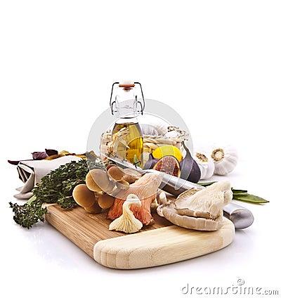 Free Exotic Mushrooms Stock Image - 13627621