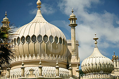 exotic palace architecture royal pavilion brighton