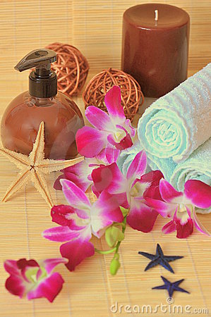 Exotic spa products - composition