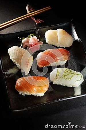 Free Exotic Sushi Combination Royalty Free Stock Image - 12146956