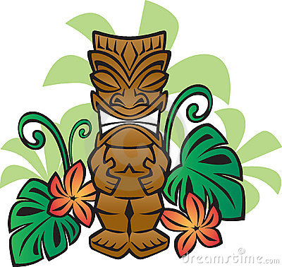 Free Exotic Tiki God Royalty Free Stock Photography - 3545657