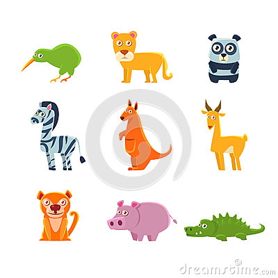 Free Exotic Toy Fauna Collection Royalty Free Stock Photos - 78321228