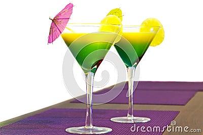 Exotische Cocktails