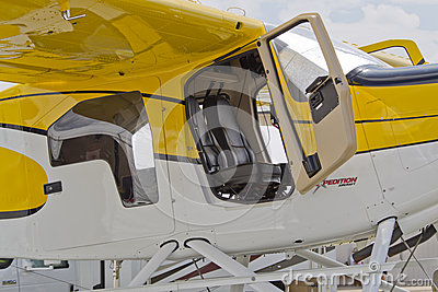 Expedition 350 Sea Plane Close up open door Editorial Photography