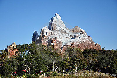 Expedition Everest in Disney Animal Kingdom Editorial Photo