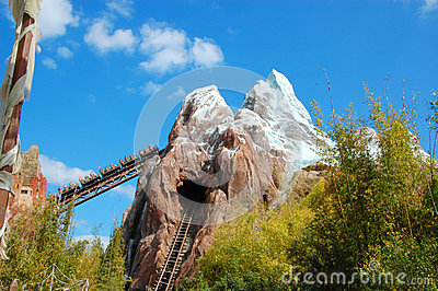 Expedition Everest Editorial Stock Image