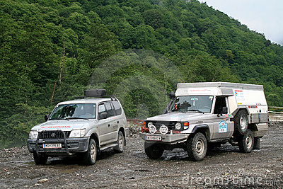 Expedition Germany-Russia Editorial Stock Image