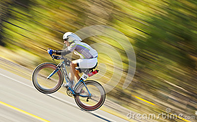 Expedition Man Bike Racer Editorial Photography