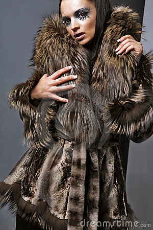Expensive fur.