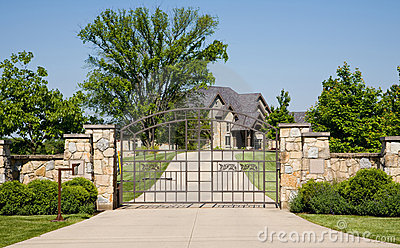 Expensive Gated Home
