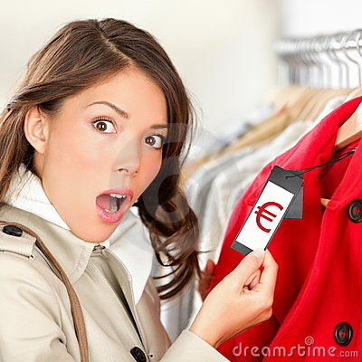 Free Expensive Shopping Prices Stock Image - 22182221
