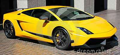 Expensive Yellow Car