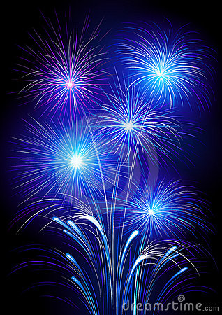 exploding fireworks royalty free stock photos image
