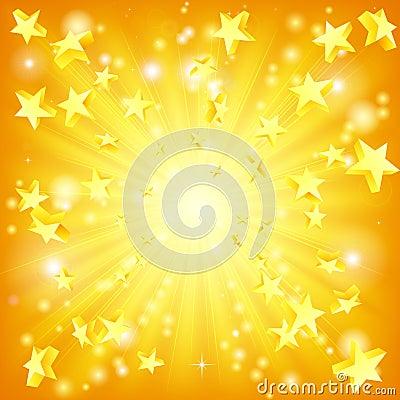 Free Exploding Stars Background Stock Image - 23931061