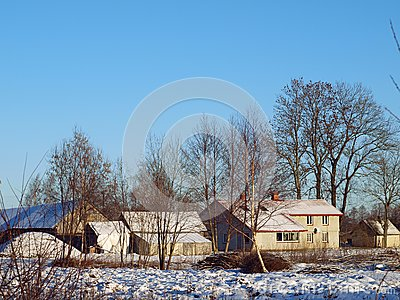 Exploração agrícola no inverno