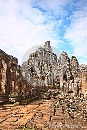 Exploring Historical ruins of Cambodia