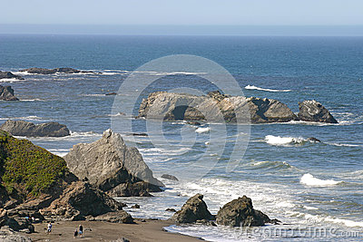Exploring The Pacific Coast Stock Photo - Image: 25265180