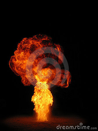 Free Explosion Royalty Free Stock Image - 987076