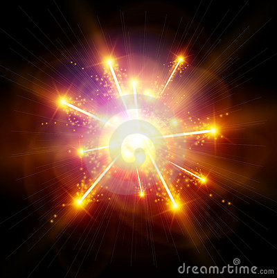 Free Explosion / Big Bang Royalty Free Stock Photos - 19119638