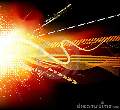 Free Explosion Vector Royalty Free Stock Image - 8209996