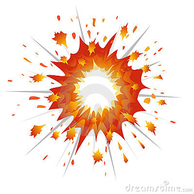 Explosion Vector-Illustration