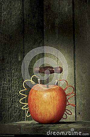 Explosive apple