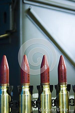 Explosive bullet ammo