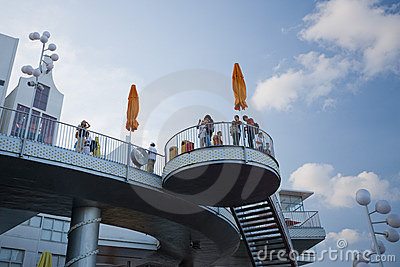 Expo 2010 Shanghai-The Netherlands Pavilion Editorial Stock Photo