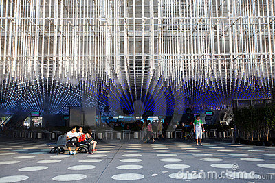 Expo 2010 Shanghai-Shanghai corporation Pavilion Editorial Stock Image
