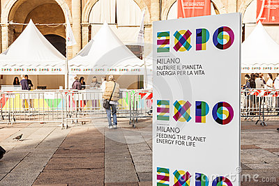 Expo 2015 milan Editorial Photo