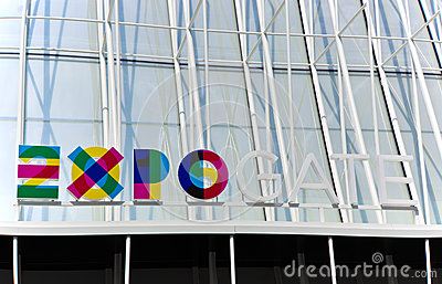 Expo 2015 Mailand Editorial Stock Image