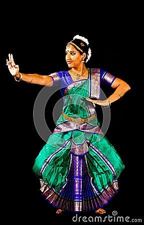 Exponent of Bharata Natyam Dance